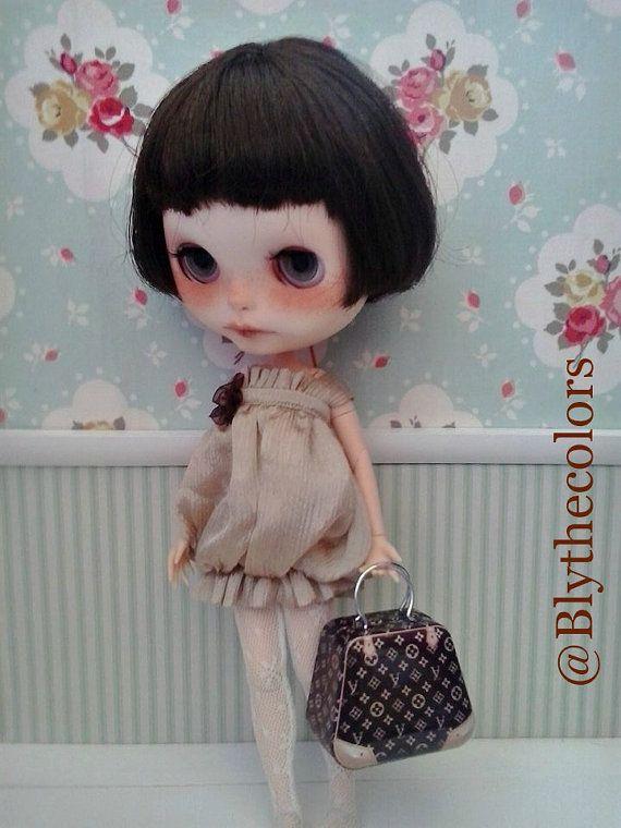 Metal bag Blythe BJD / Dolls por Blythecolors en Etsy
