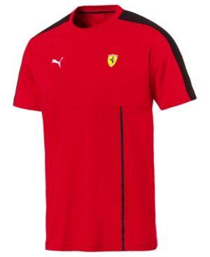 Puma Men s Ferrari T-Shirt - Red XXL  fa41389ec