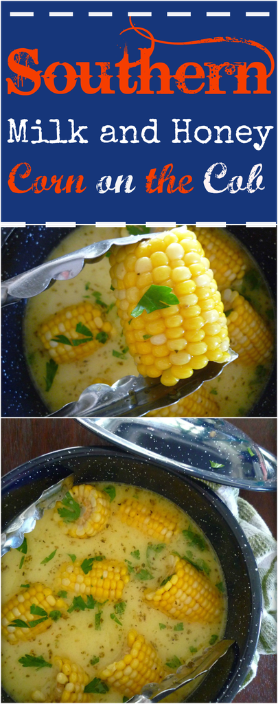 Milk and Honey Corn on The Cob This recipe for Southern Milk and Honey Corn on The Cob will be one of the best corn on the cob recipes you will have ever try this season hands down; made with delicious Florida sweet corn, simmered slowly in whole milk, organic honey, unsalted butter, and seasoned to perfection with Cajun spices, kosher salt, and