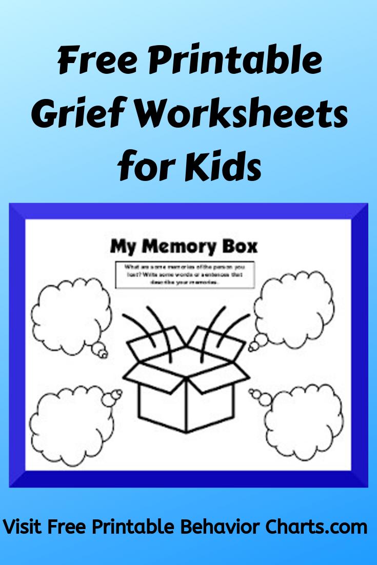 Grief Worksheets For Kids Grief Worksheets Grief Activities Counseling Kids [ 1102 x 735 Pixel ]