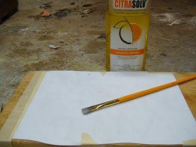 Citra-solv Wood Transfer