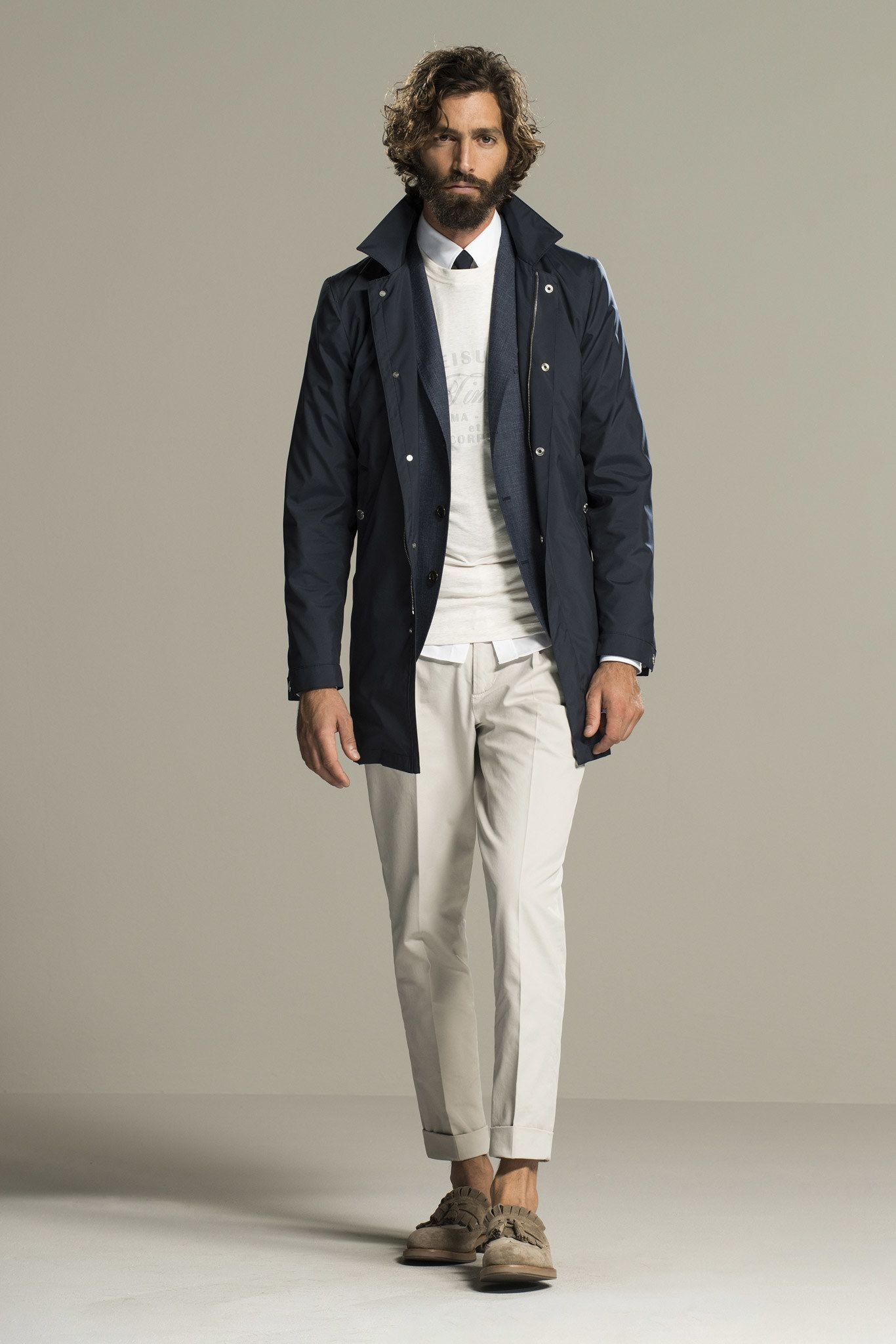 Brunello Cucinelli Spring 2016 Menswear Fashion Show