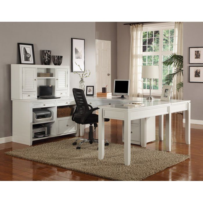 Veda Wood Credenza Desk Home Office Layouts Cheap Office