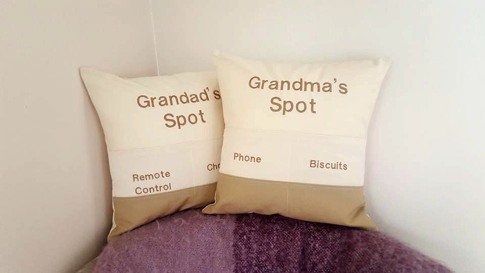 Personalised Pocket Cushions~Set of 2 Personalized Pillows~Home Decoration~His and Hers Gifts~Novelty Gifts~Gifts Under 50~On Offer by ElizaGraceUK on Etsy