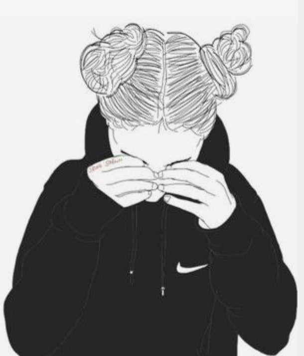 Ağlayan Kız çocuk Insanlar 2019 Tumblr Girl Drawing Tumblr