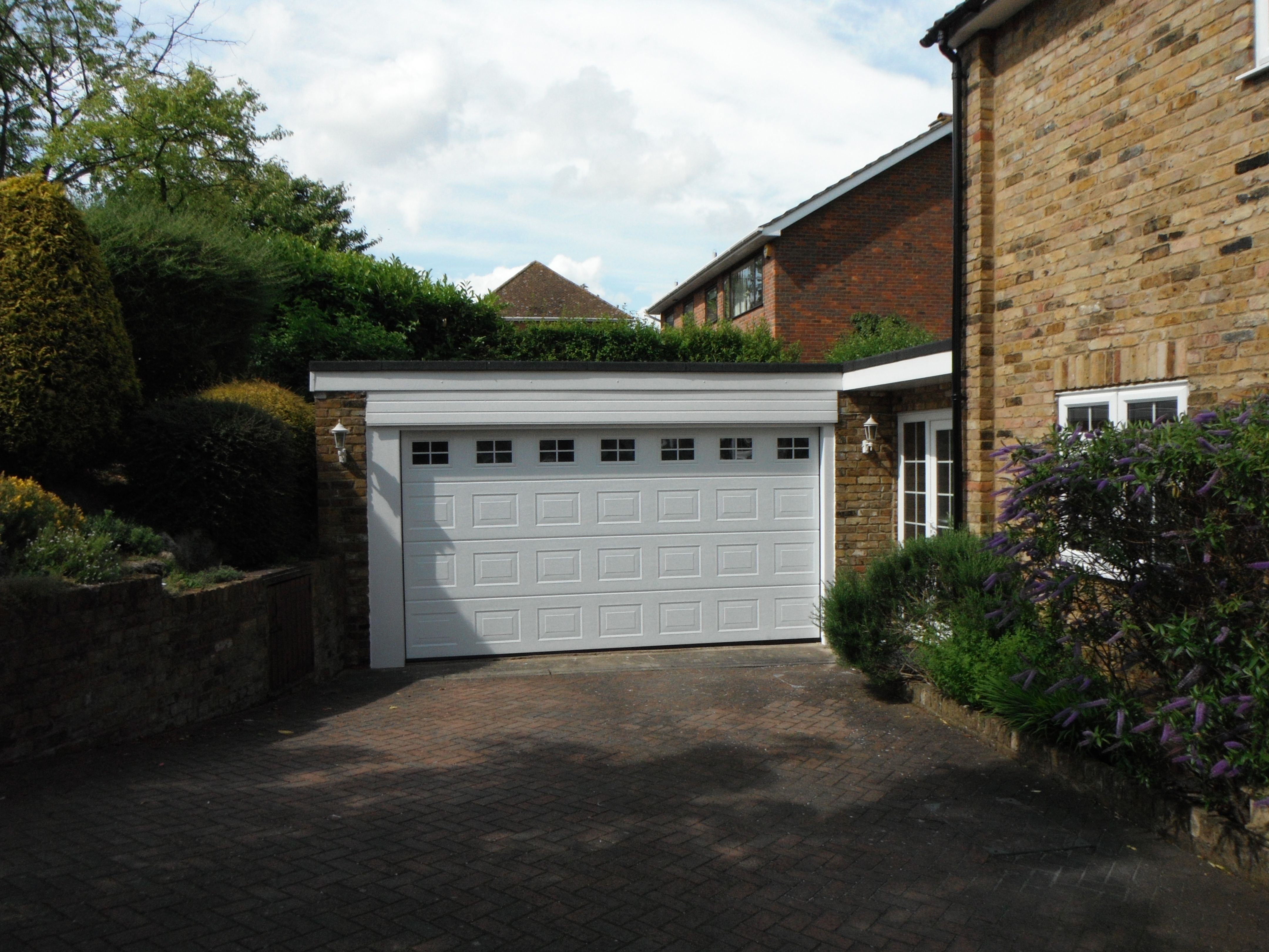 Hormann Double Sectional M Panel Garage Door With Windows