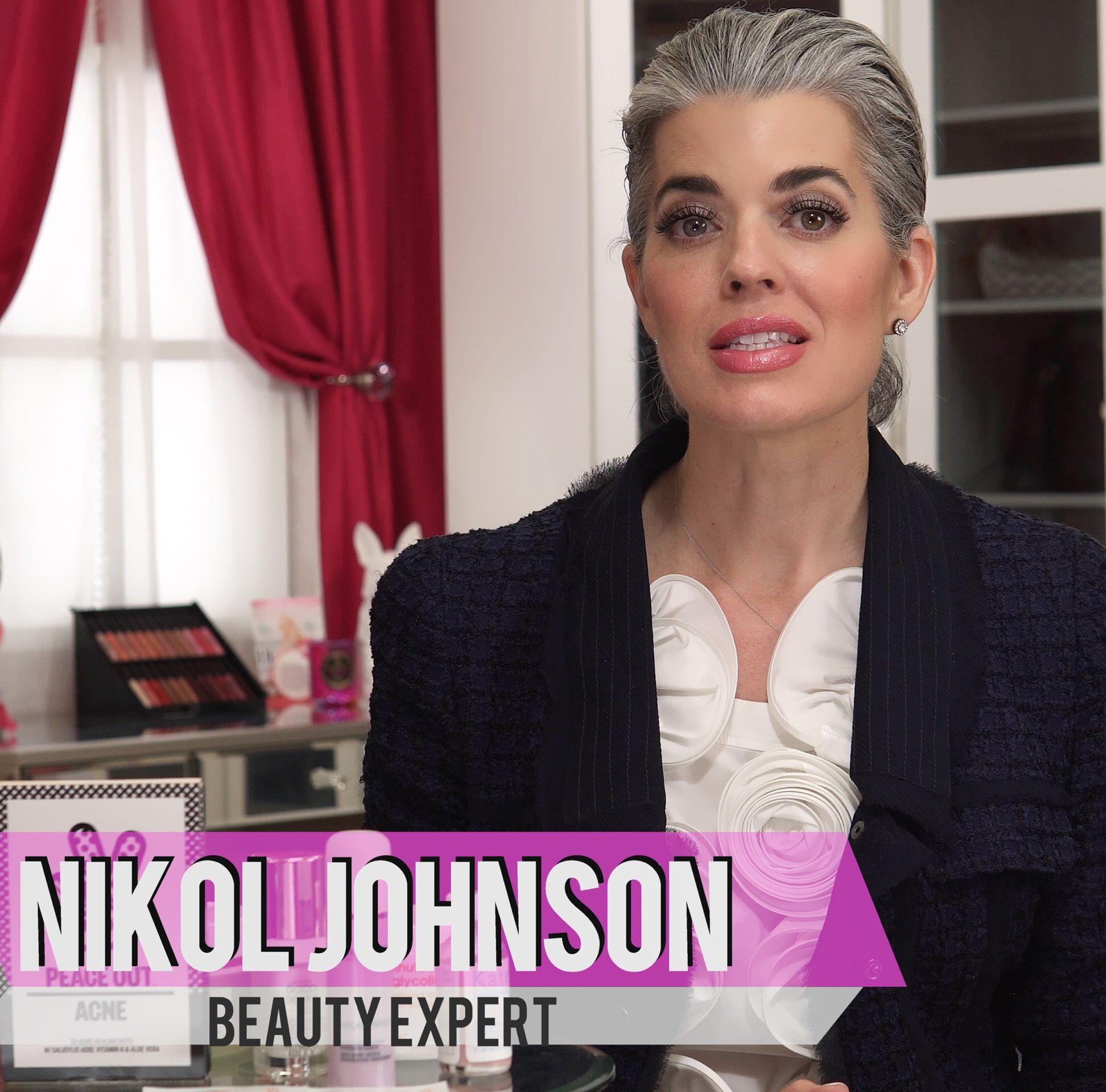 On YouTube sharing my Beauty Tips. Nikol Johnson (With
