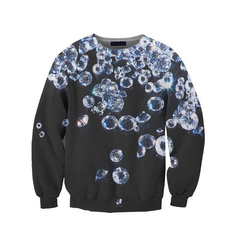diamond sweatshirt - it's a little ridiculous that i want this.