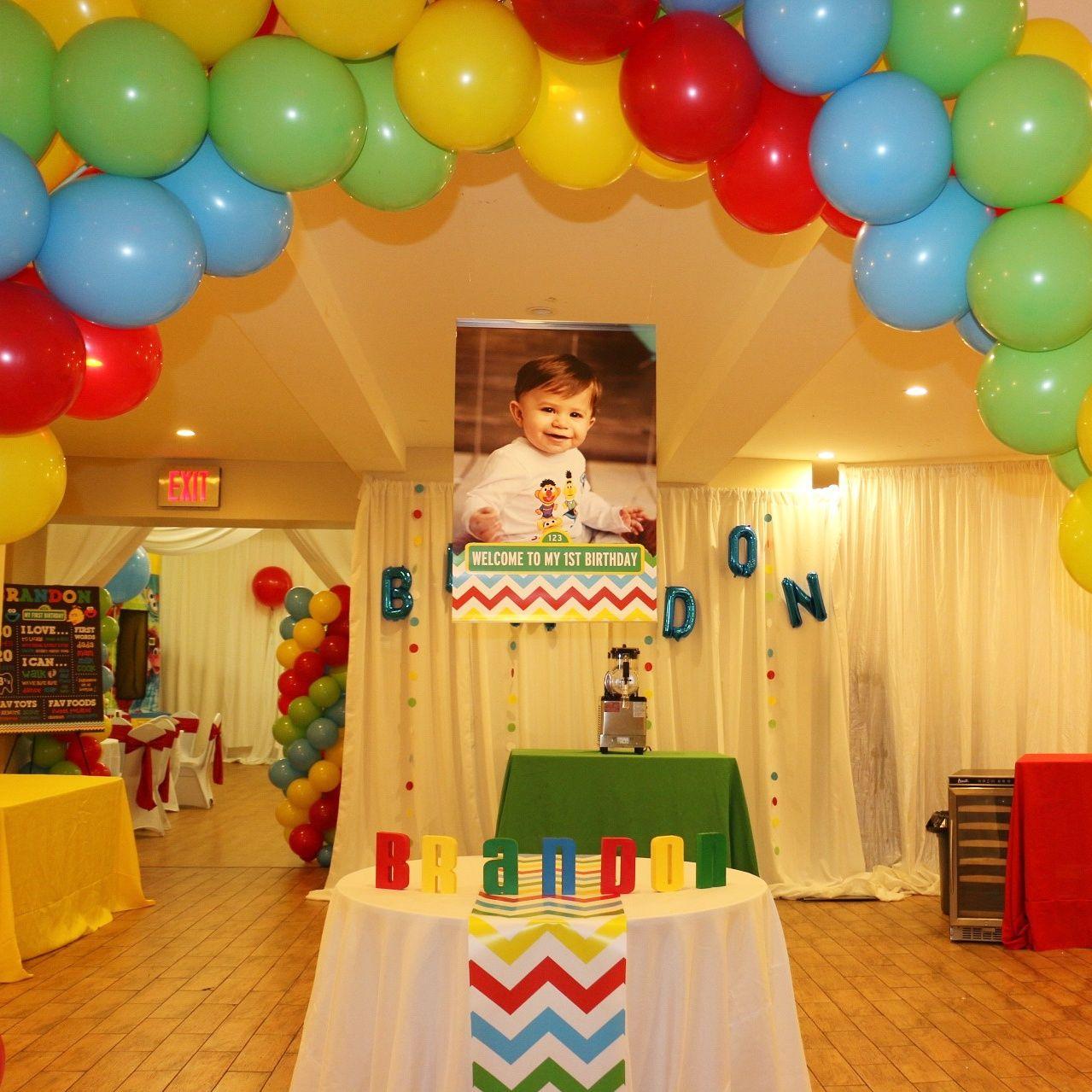 We Heart Parties Brandon's Sesame Street theme 1st