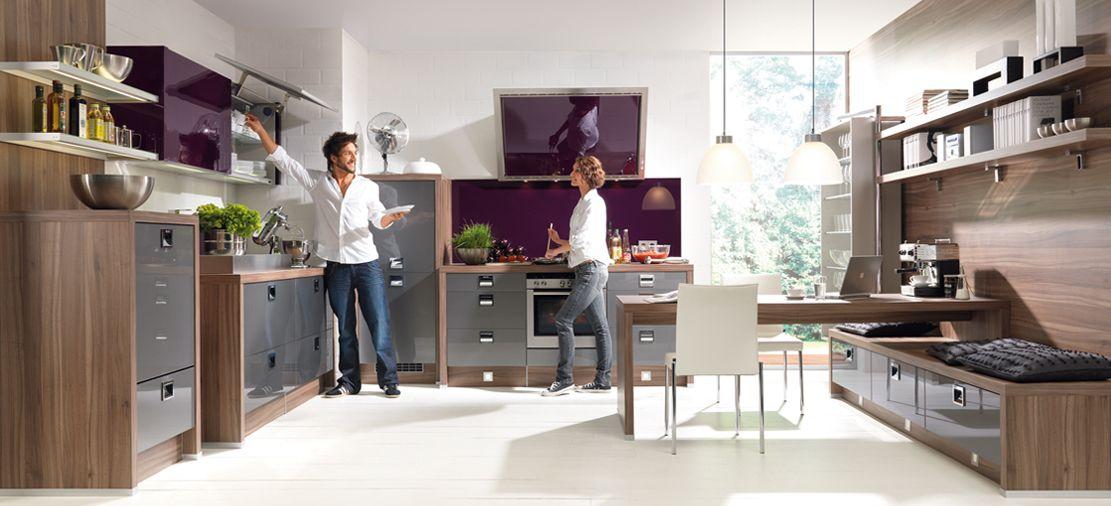 Cocina gris cuarzo metalizado una cocina de ensue o con - Cocinas de ensueno ...