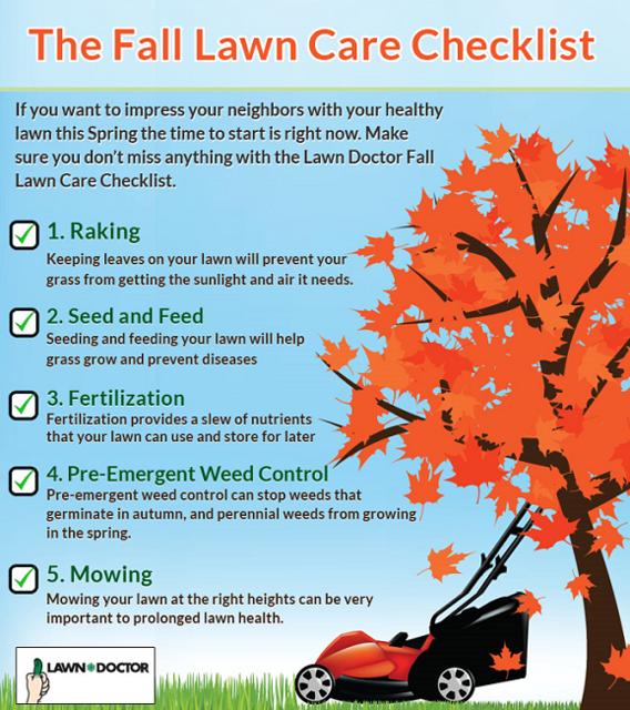 Fall Lawn Care Checklist