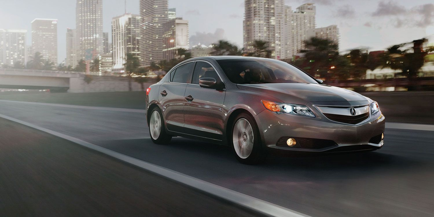Ilx 5 Speed Automatic With Premium Package In Polished Metal Metallic Acura Ilx Acura Best Luxury Cars