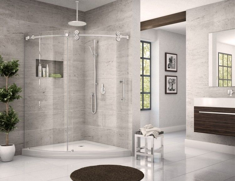 Full Image for Corner Bathtub Shower 148 Breathtaking Project For - licht f amp uuml r badezimmer