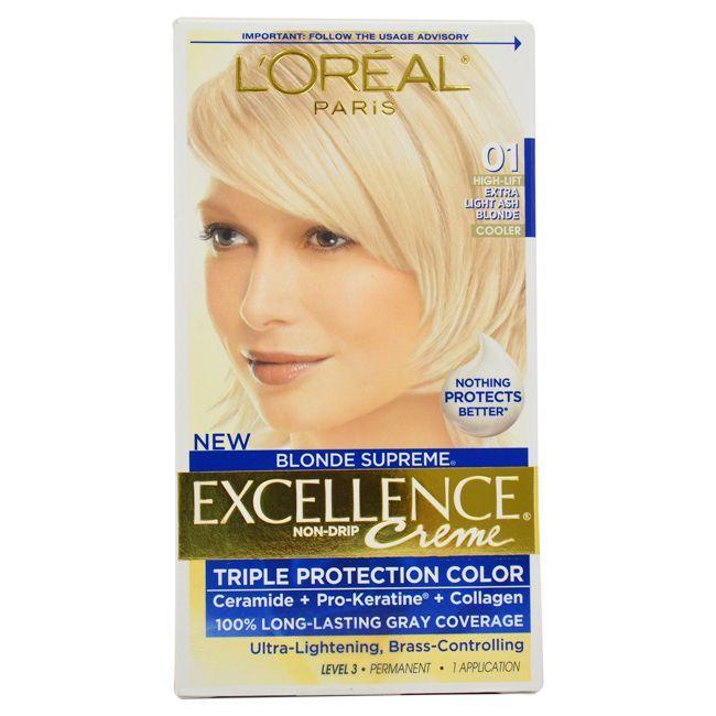L Oreal Paris Excellence Creme Blonde Supreme 01 High Lift Extra