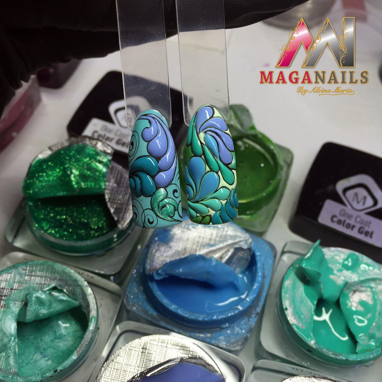 Nail Art Gel, Magnetic, Maga NAils, Albina Maria.
