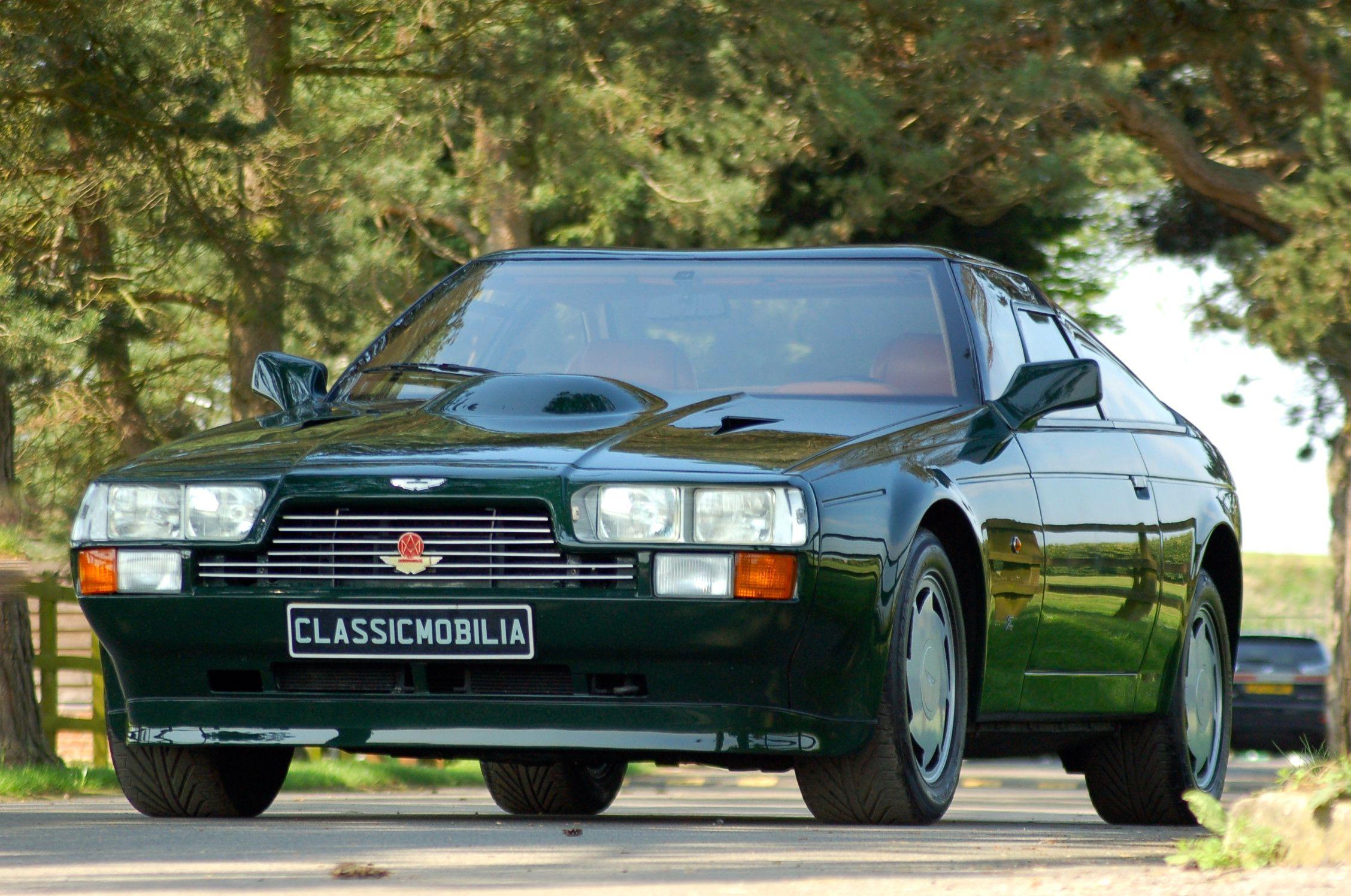 Aston Martin V8 Vantage Zagato Coupe left hand drive with great