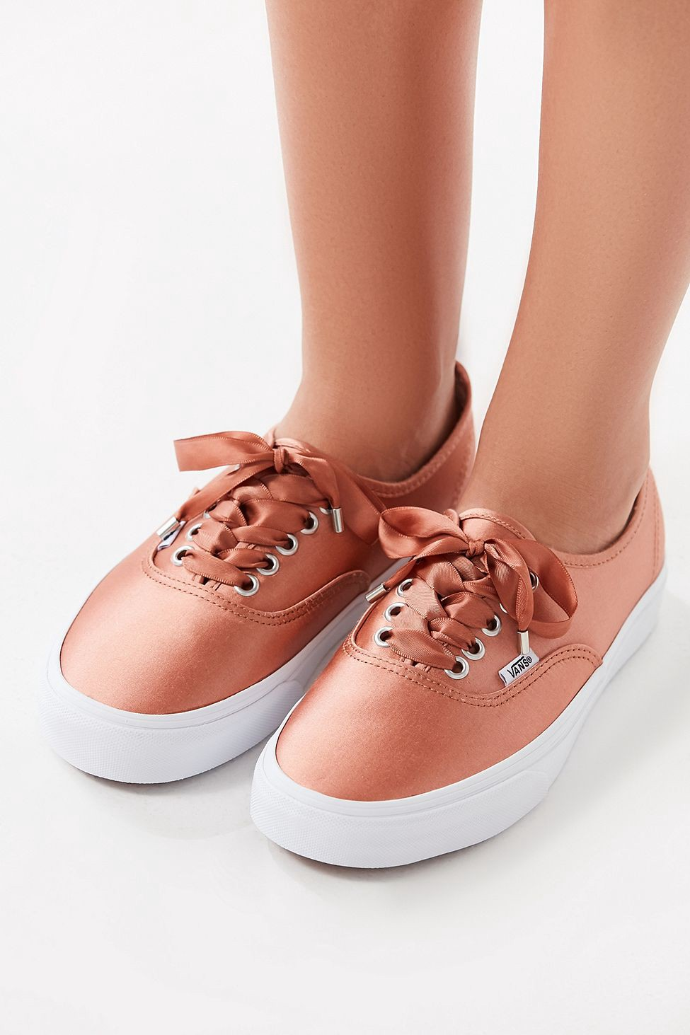 Urban Outfitters Vans Satin Lux Authentic Sneaker - Rose W 10 M 8.5 ... 80d93bb22
