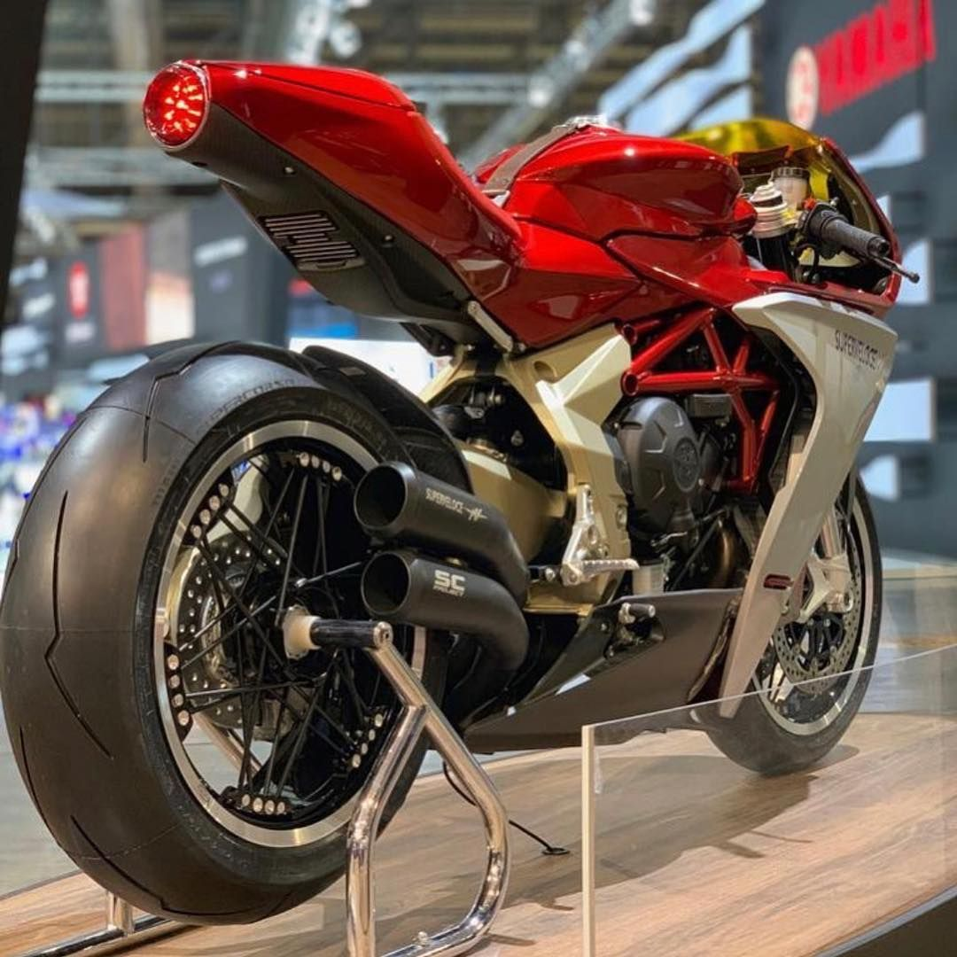 Mv Agusta Superveloce With Sc Project Exhaust Eicmaofficial
