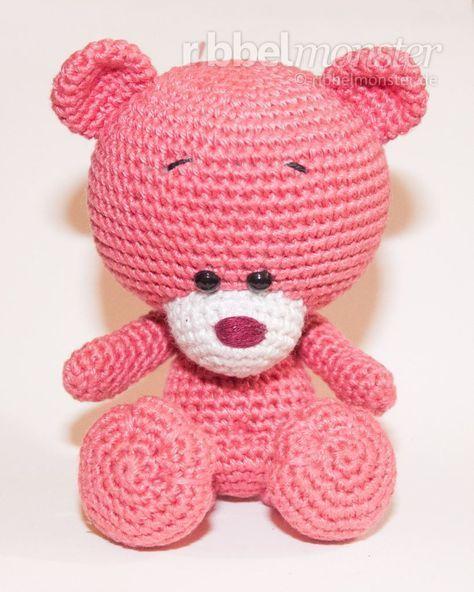 Kostenlose Anleitung Amigurumi Teddy Hakeln Pina Teddy