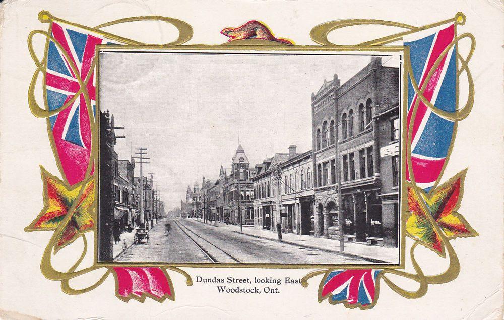 WOODSTOCK , Ontario , Canada , PU-1905 , Dundas Street, Looking East