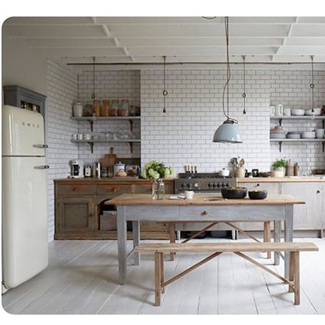 Great Kitchen In A London House Photographed By Paul
