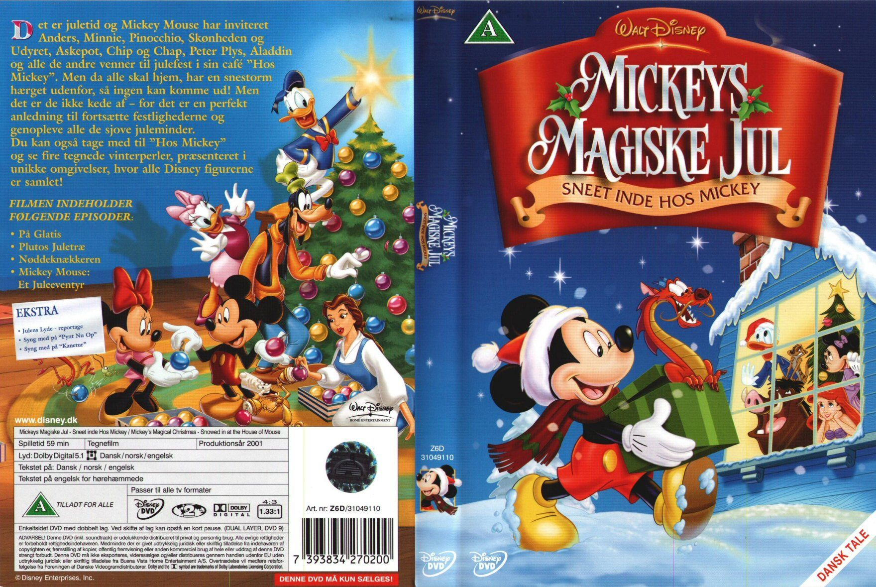 Mickeys Magical Christmas Snowed In At The House Of Mouse.Mickey Mouse Christmas Movie Mickey S Magical Christmas