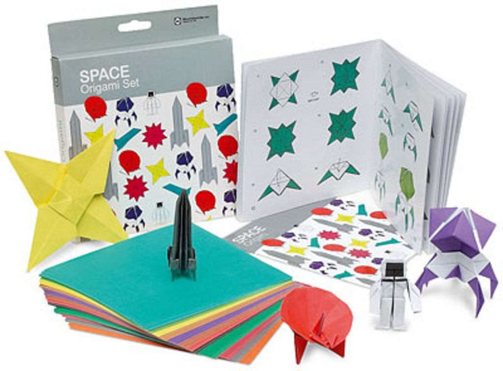 Origami set Space