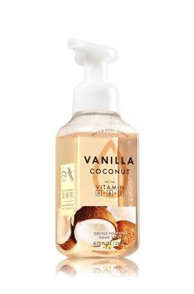 Vanilla Coconut Gentle Foaming Hand Soap Soap Sanitizer Bath