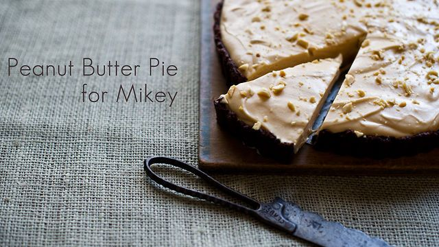 Peanut Butter Pie for Mickey