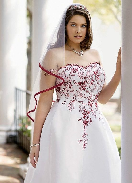 e294ab1d204 This is actually one of my favorites!!! Not sure if I would go with the red  or not... from David s Bridal Wedding Dress
