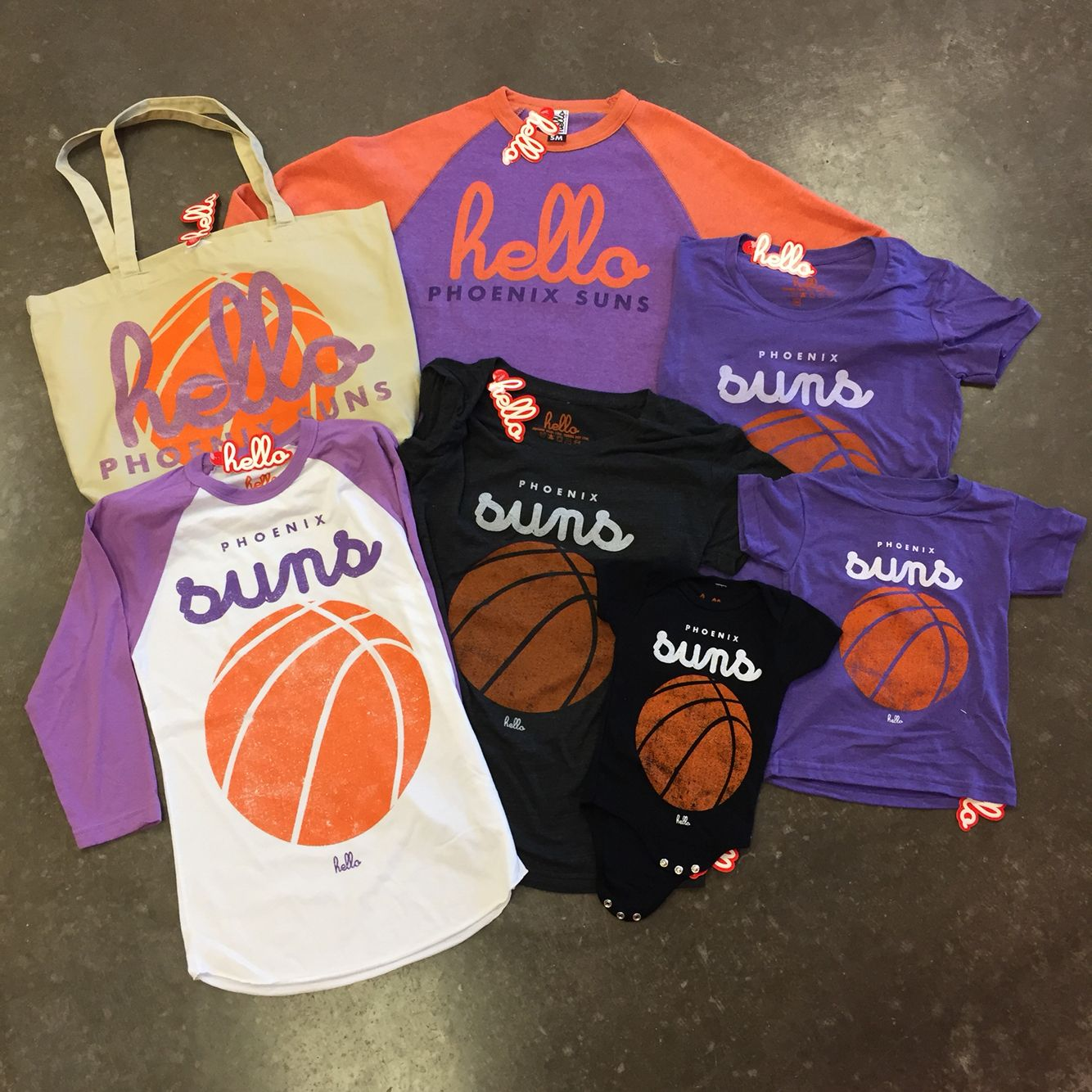 finest selection abd84 b5739 Hello Apparel for the Phoenix Suns available now at the Suns ...
