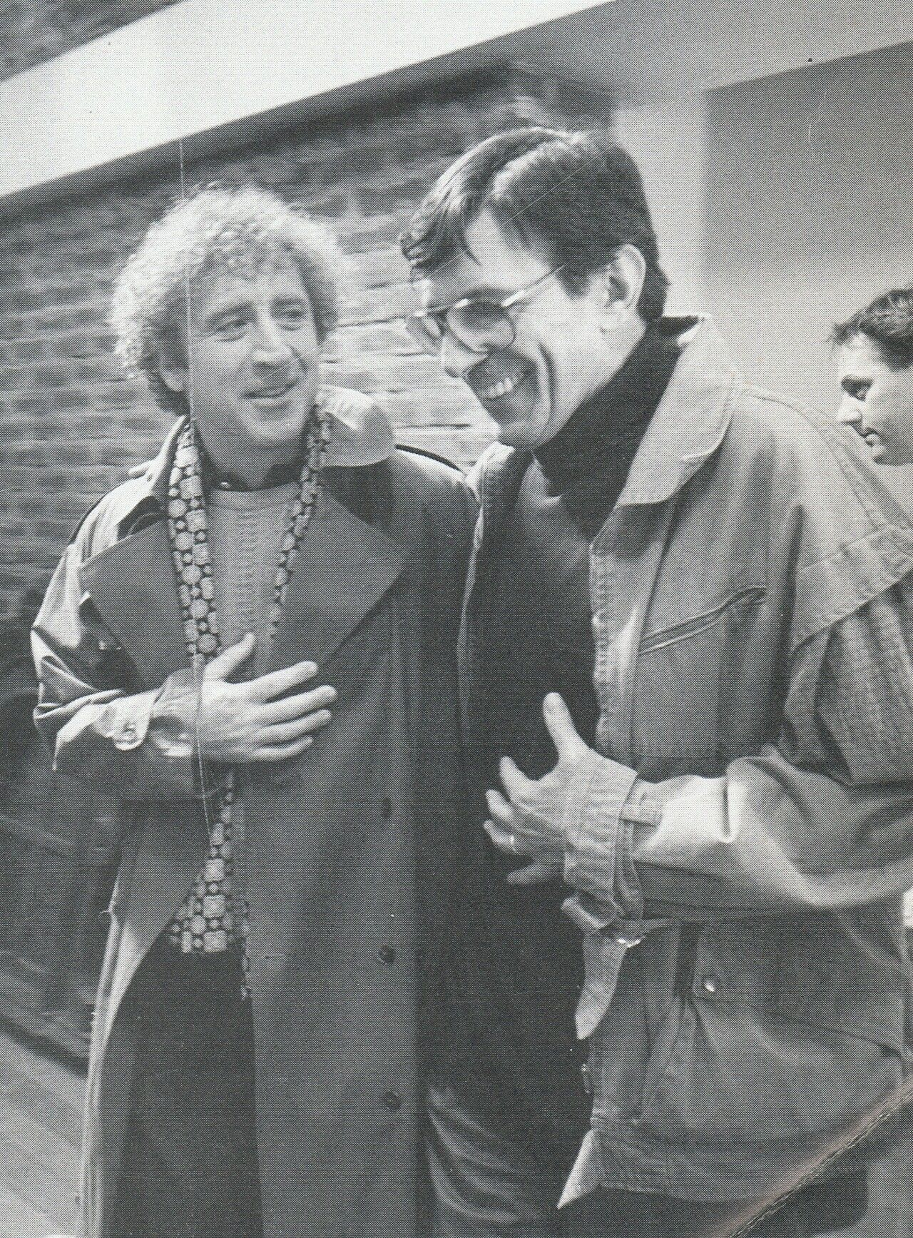 Leonard Nimoy and Gene Wilder                                                                                                                                                                                 More