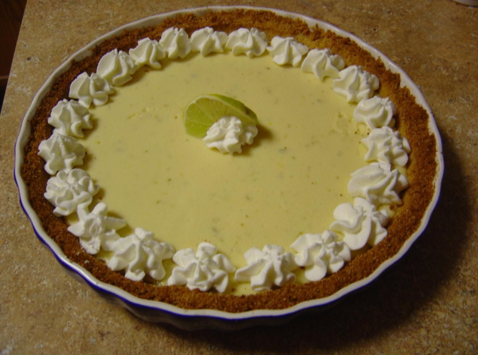 The Boss's Key Lime Pie
