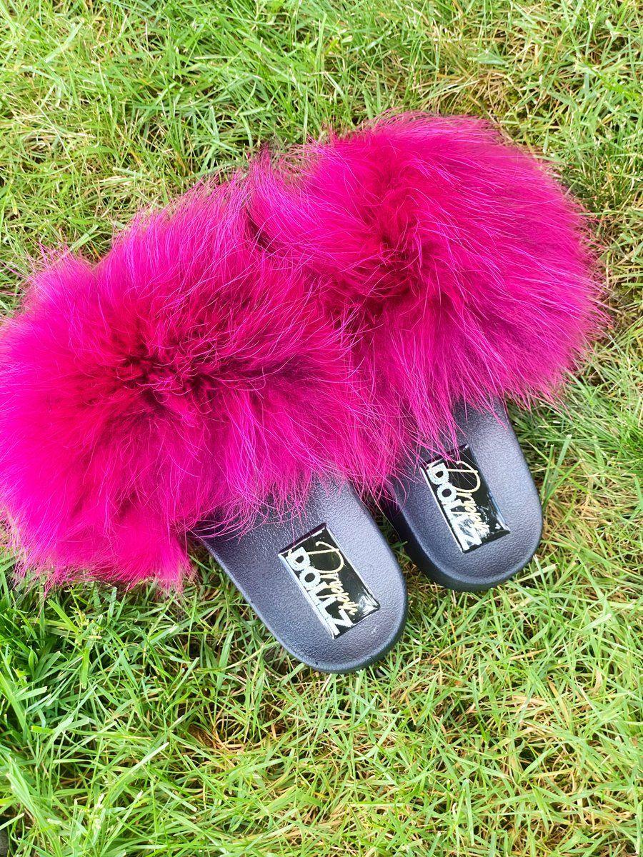 Fur Slides Drippin Dollz Fur Slides Slides Fur