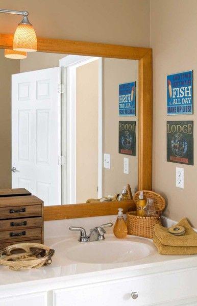 17 Inspiring Oak Framed Bathroom, Oak Framed Mirrors Bathroom