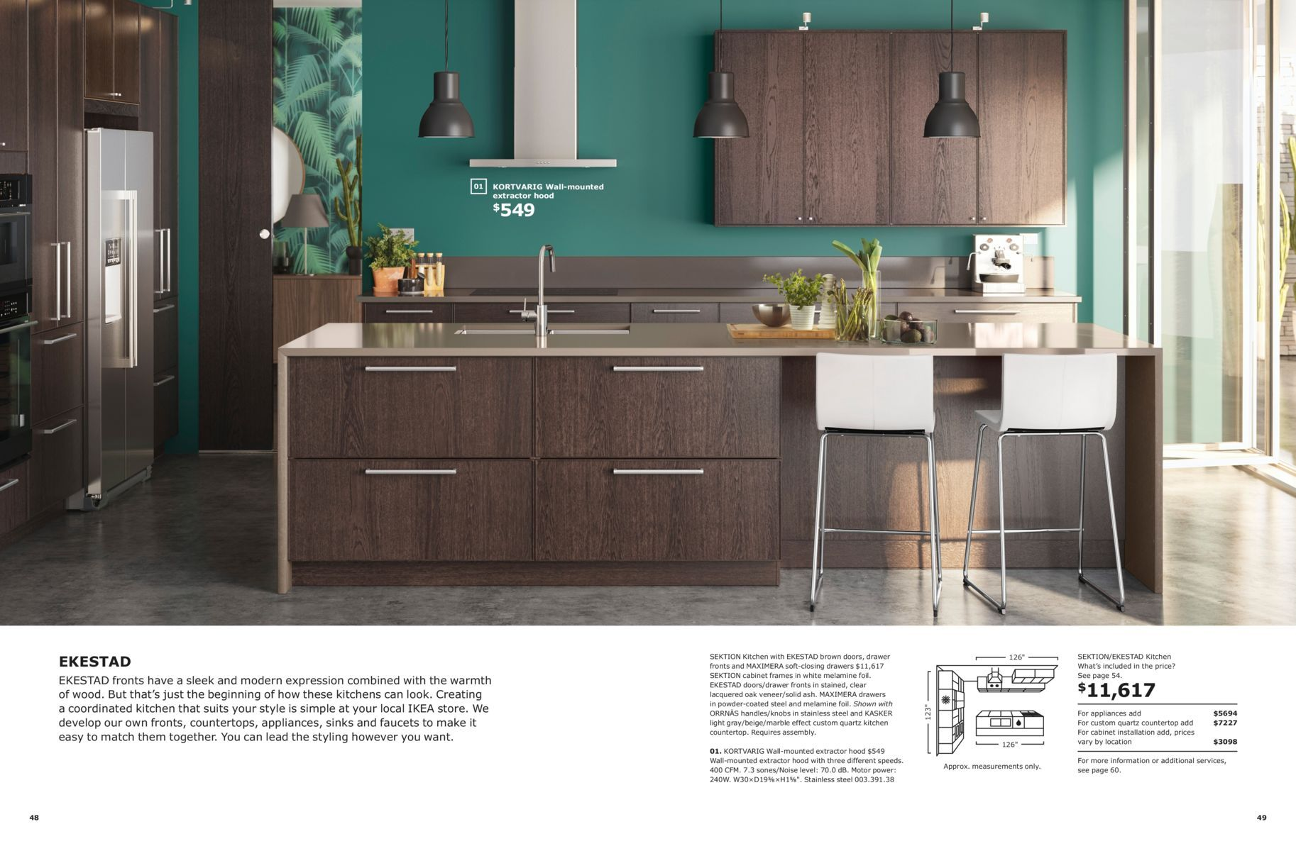 Ikea Kitchens Usa | Make It Personal Ikea Kitchen Brochure 2019 Diy Kitchen