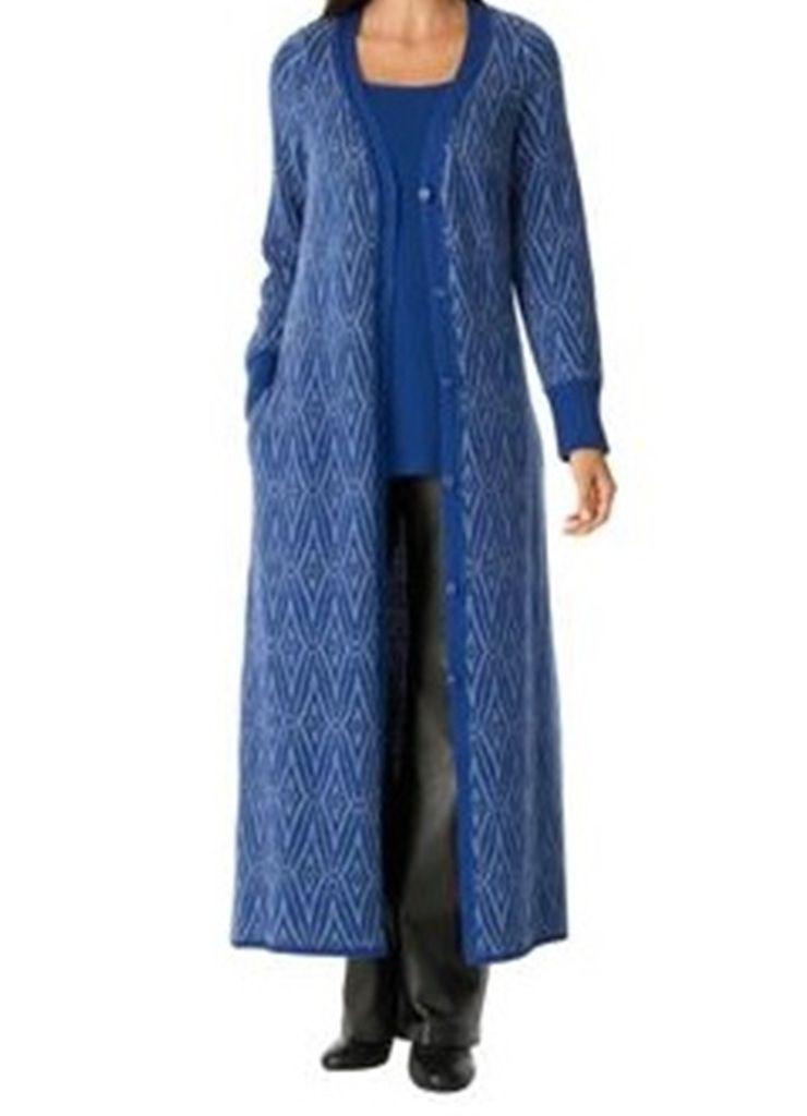 996552ed0139 Women s Winter fall long Sweater Coat duster Cardigan jacket plus L ...