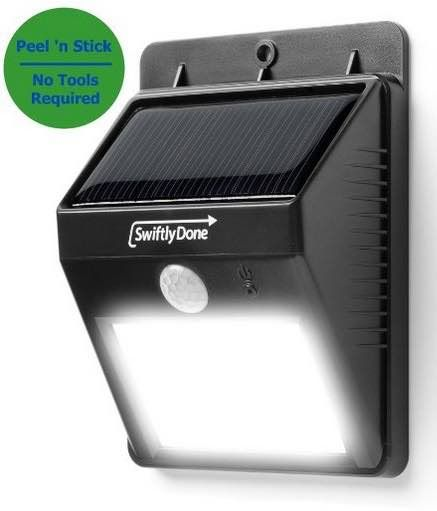 Swiftly Done Bright Outdoor Led Light Solar Energy Ed