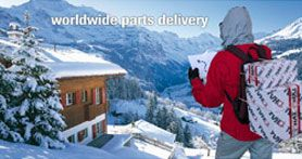 worldwide parts delivery