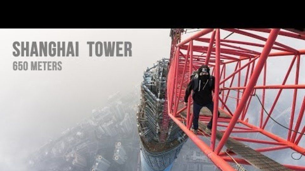 They Climbed One of the Tallest Buildings in The World Barehanded. I had a panic attack watching it while laying on my bed.