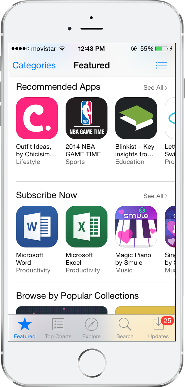 our app has been featured 16 times on the itunes home page in 16