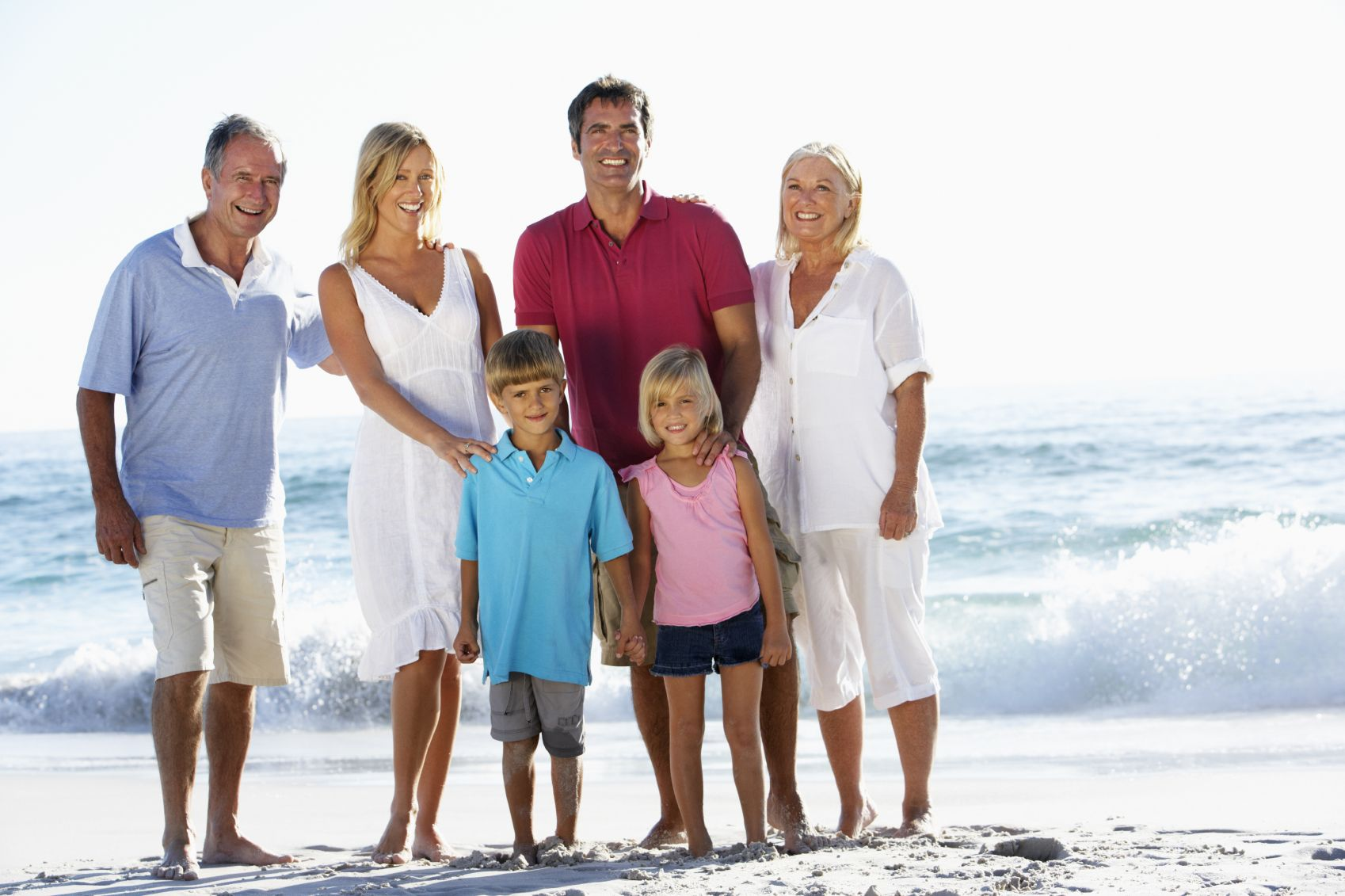 Sandbridge is a great place to celebrate what life is all about!  Family!