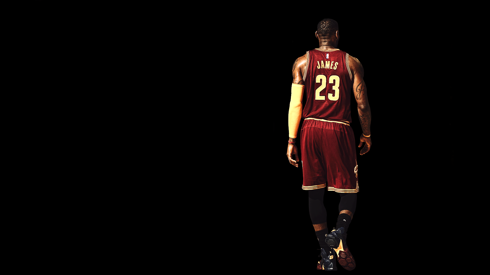 LeBron James Fulfilled Request [1920x1080] Need iPhone