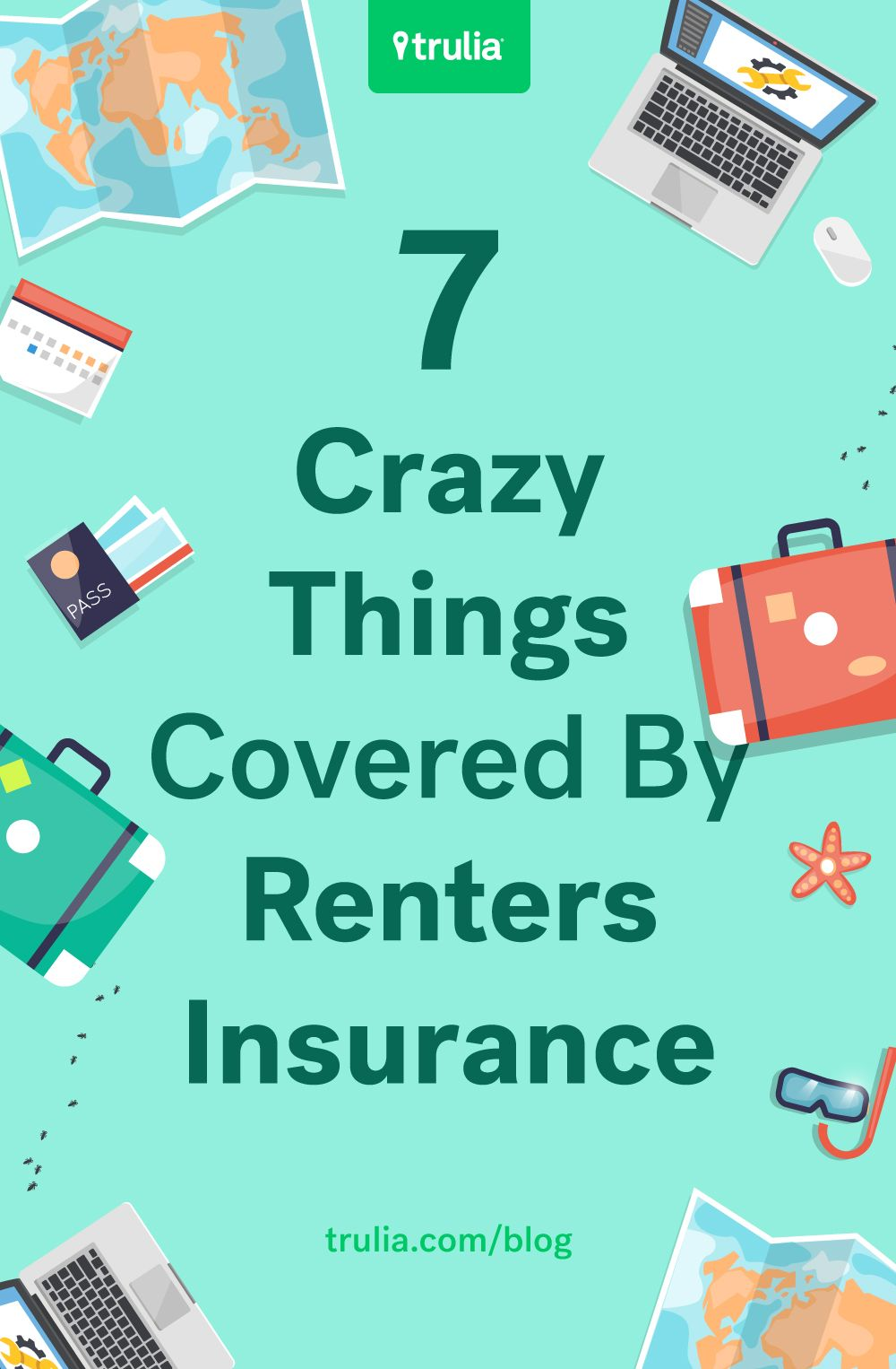 What Does Renters Insurance Cover 7 Surprising Things Real Estate 101 Trulia Blog Renters Insurance Insurance Sales Tenant Insurance