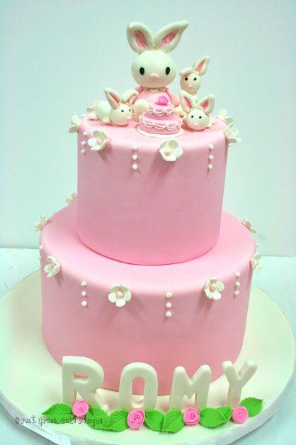 Birthday Cakes NYC Bunny Custom Cakes Cakes Pinterest