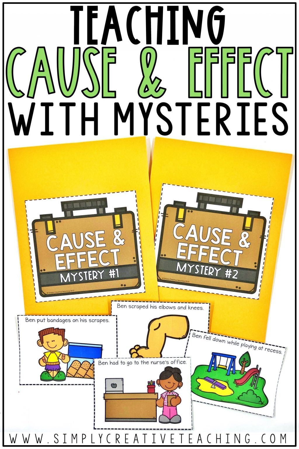 Cause And Effect Activities In