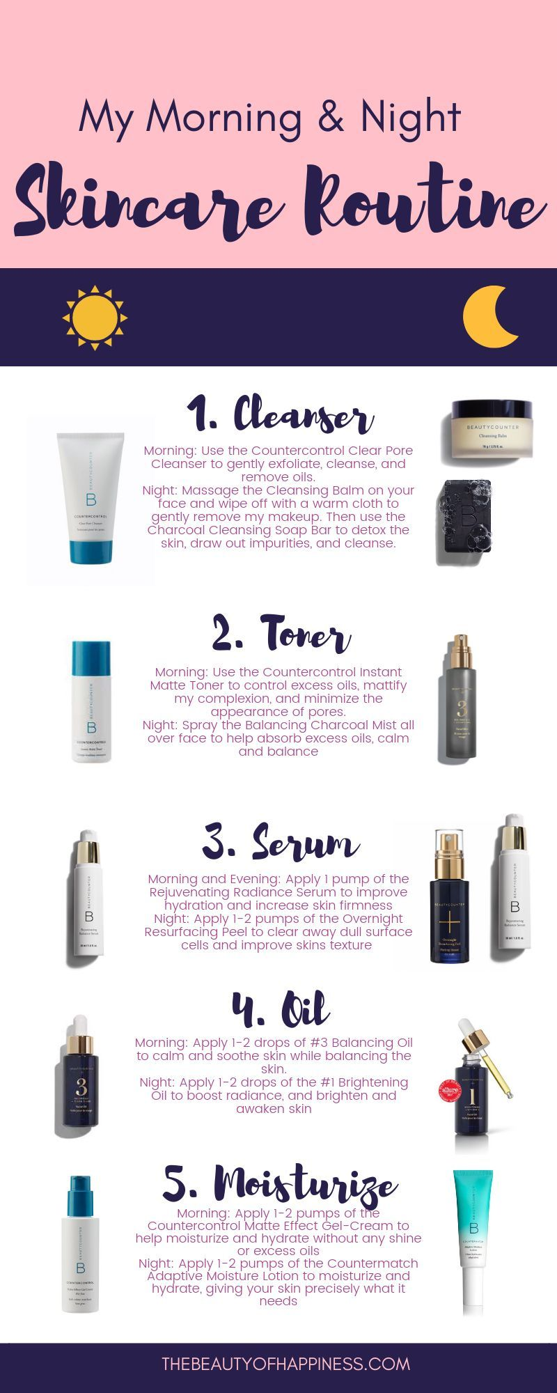My personal skincare routine with clean, safe products. If you
