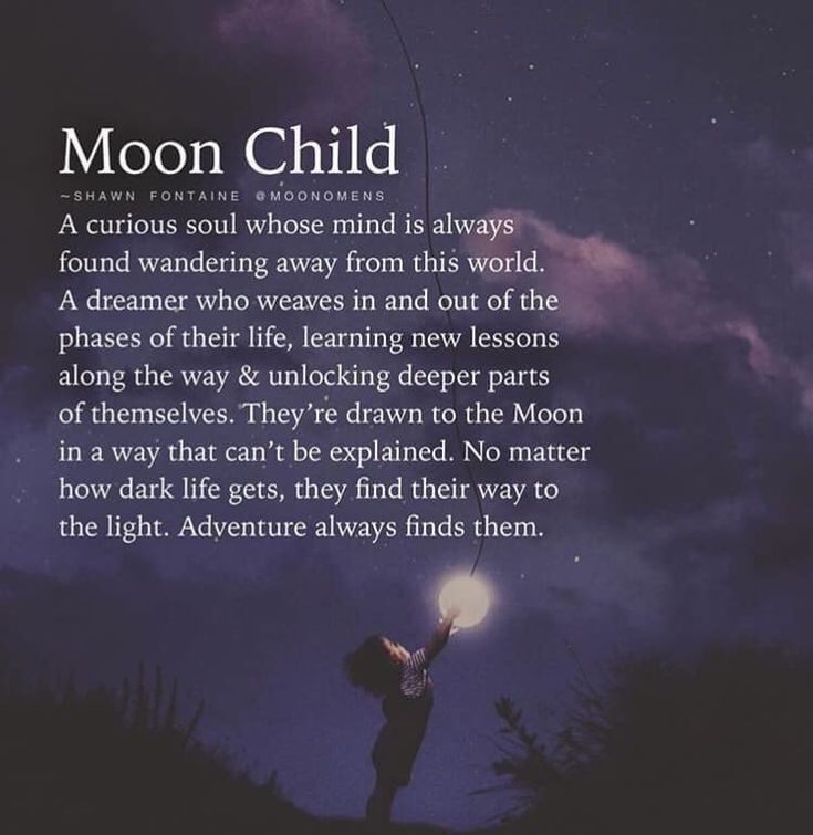 Talking to the moon...