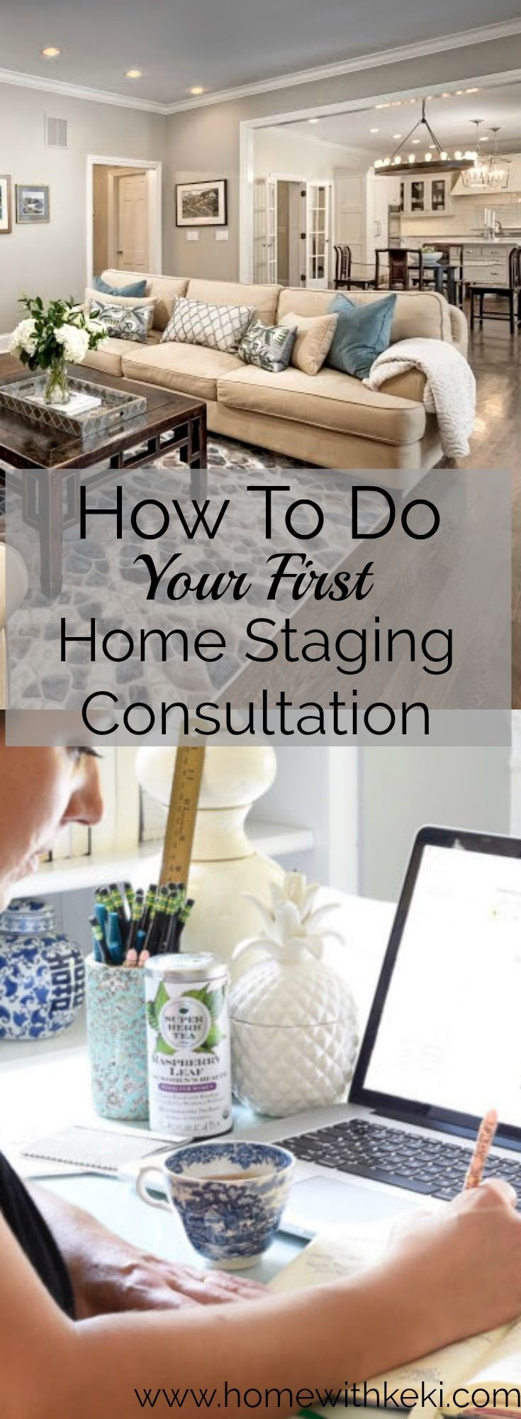 Sharing my top 5 tips on how to conduct a home staging consultation and what you need to bring with you. for more go to www.homewithkeki.com #homestaging #stagedhomes
