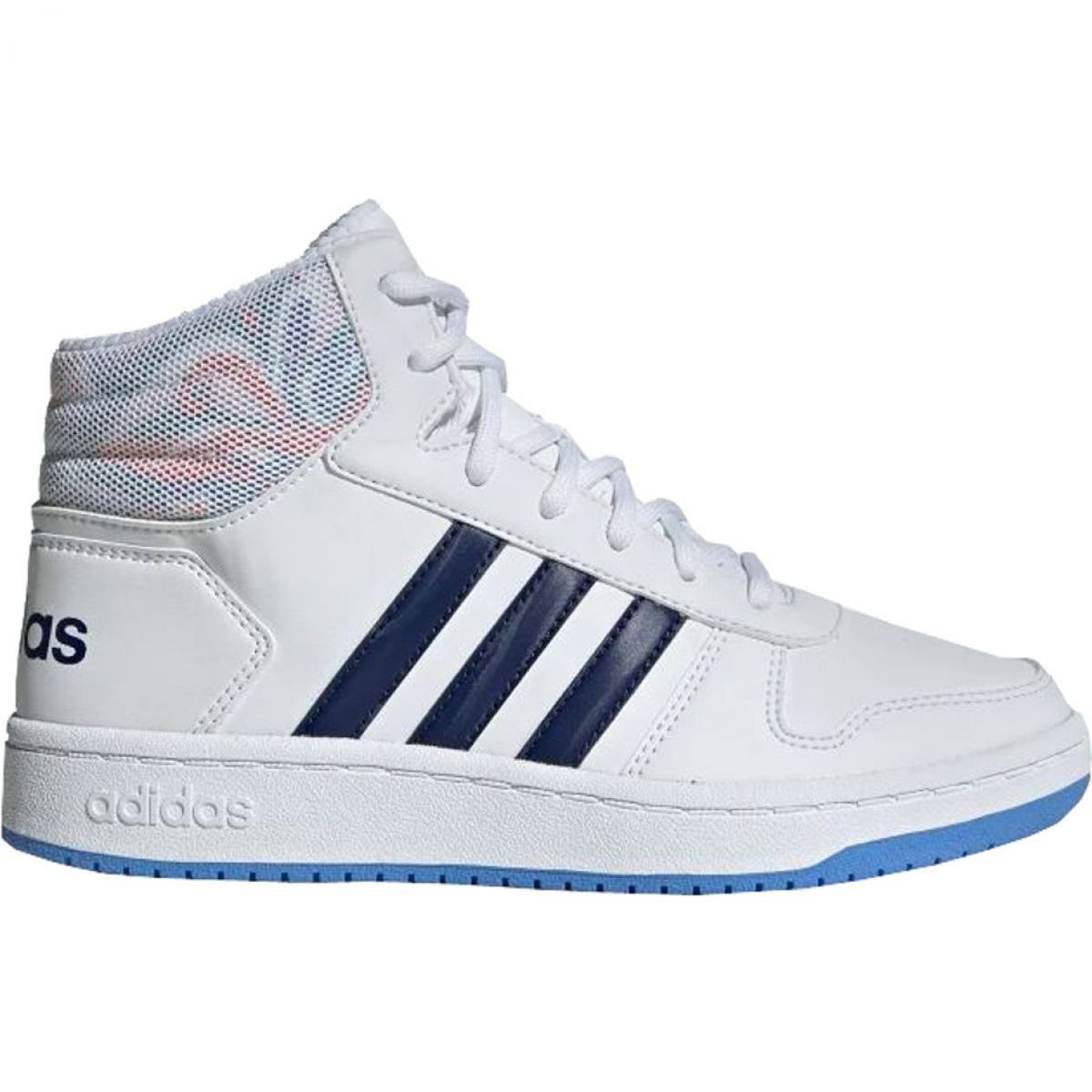 Buty Adidas Hoops Mid 2 0 Jr Ee8546 Biale Kid Shoes Childrens Shoes Adidas